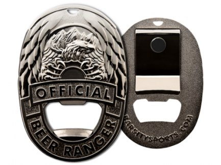 Beer ranger badge bieropener